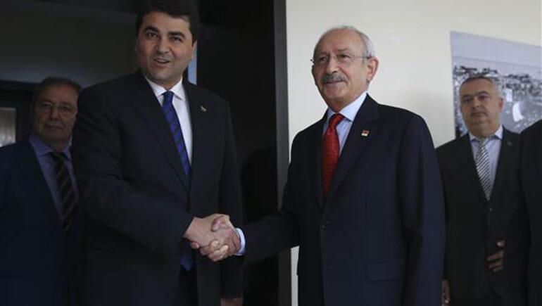 Kılıçdaroğlu'dan DP'ye ziyaret: Çatı adayı görüşmedik