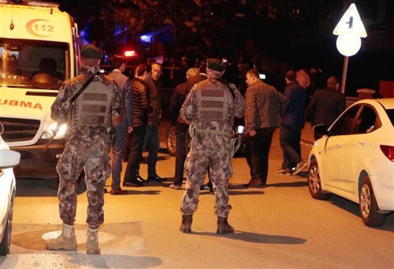 Ankarada silahlı çatışma