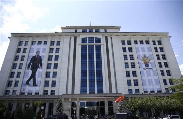 Erdoğan, AK Parti Genel Başkanı olduktan sonra ilk kez Genel Merkezde