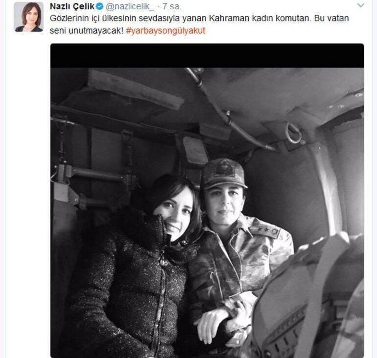 Türkiyede bir ilki gerçekleştirmişti: Yarbay Songül Yakut da şehit oldu