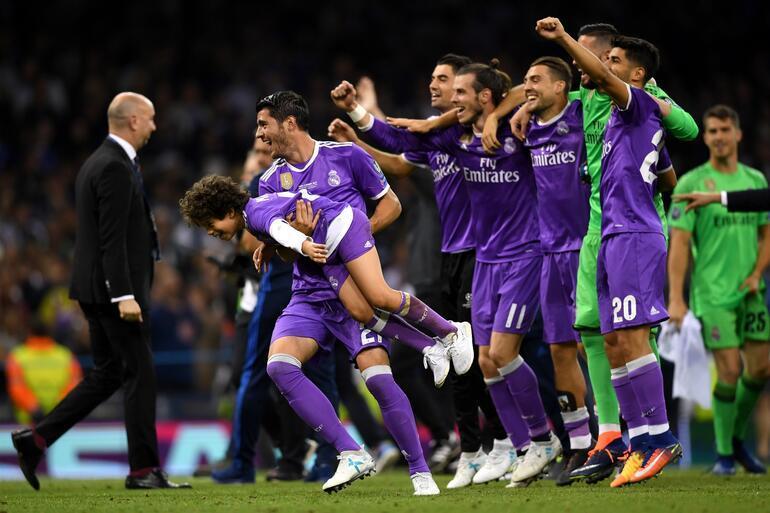 Juventus 1-4 Real Madrid / MAÇ SONUCU