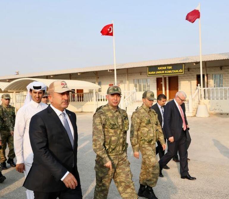 İşte Türkiyenin Katardaki askeri üssü