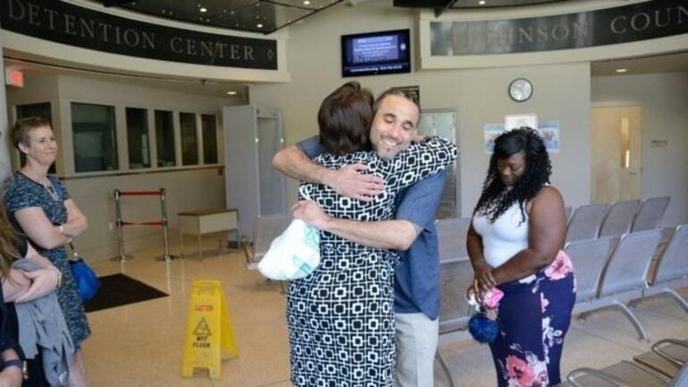 17 yıl hapis yatan adam kopyası yakalanınca bırakıldı