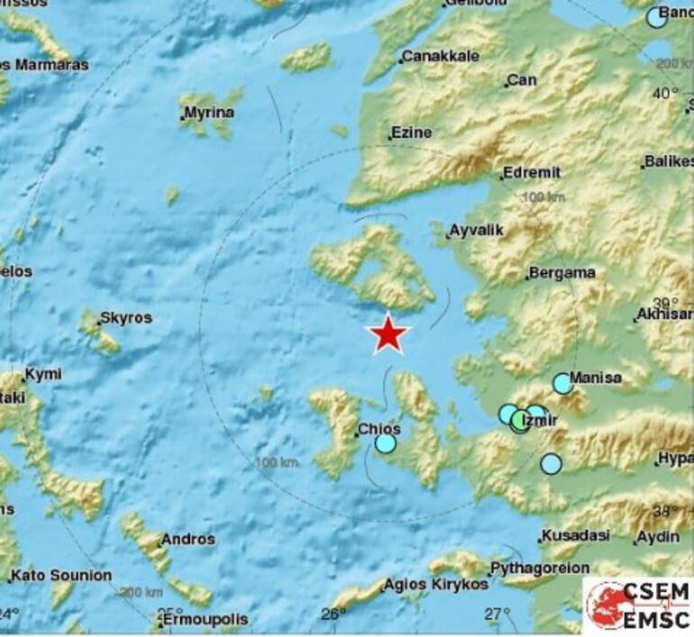 Son dakika... İstanbul ve İzmirde korkutan deprem