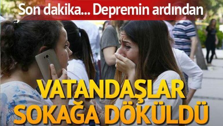 Son dakika... Egede deprem İzmir, İstanbul, Bursada da hissedildi...