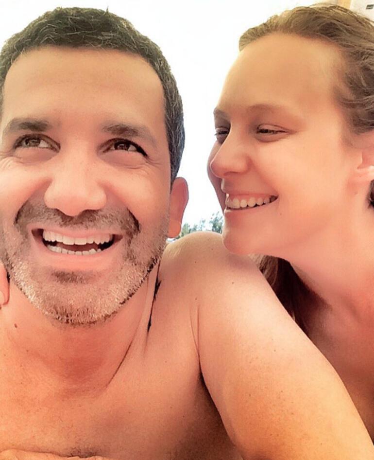 Şeyma Korkmaz ve sevgilisi Cüneyt Mete tatilde