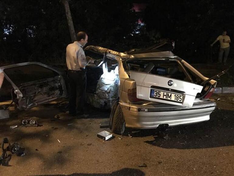 Korkunç kaza Yarış iddiası...