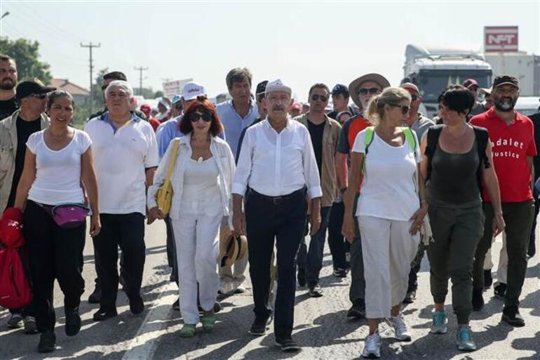 Adalet Yürüyüşünde 16. gün... Kılıçdaroğlu bu karavanda kalıyor...
