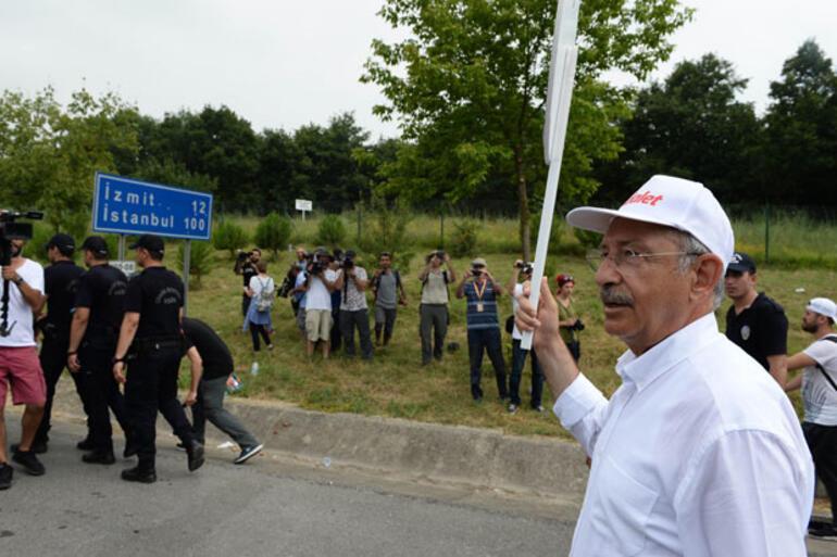Adalet Yürüyüşünün 19. gününde Kılıçdaroğlundan provokasyon uyarısı