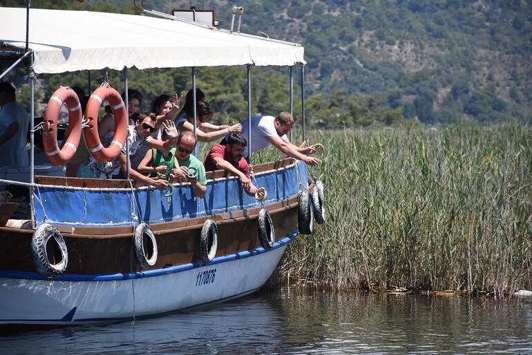 Turistlerin yeni merakı mavi yengeç yakalama turu