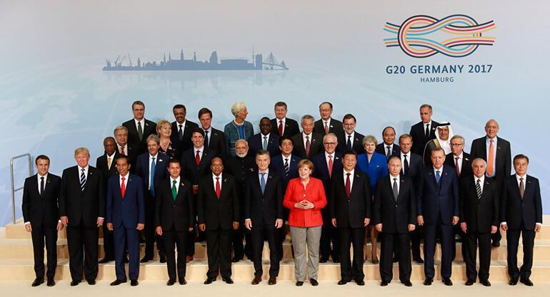G20 zirvesi başladı... Erdoğan ve Trump toplantı öncesi görüştü