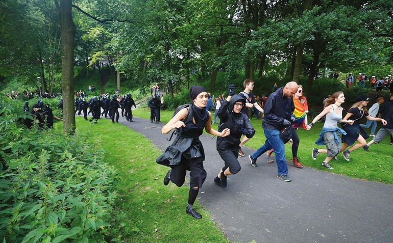 Hamburg'da G-20 ateşi