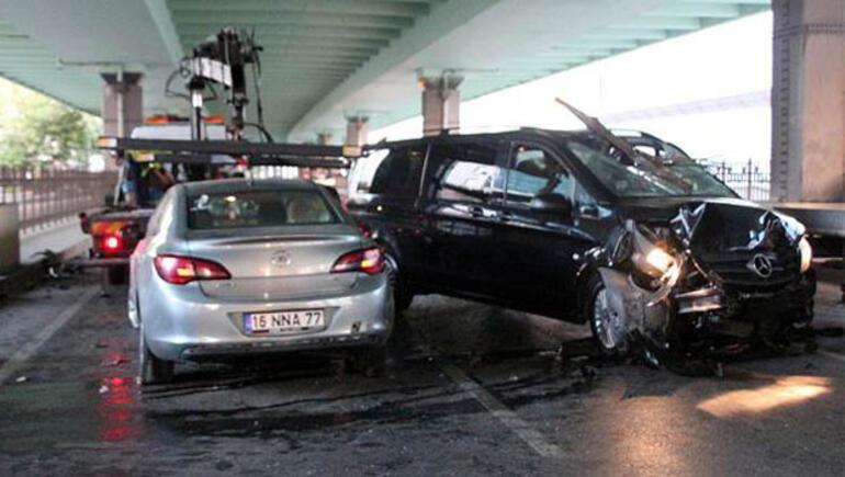 Mecidiyeköyde bu sabah korkunç kaza