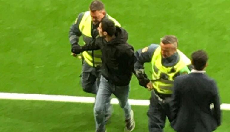 Galatasarayın maçında Apo krizi