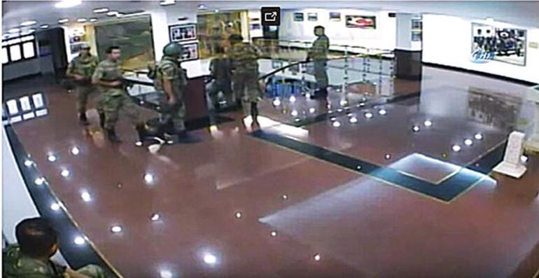 15 Temmuz'da Araf'taki binbaşı