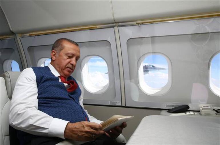 Cumhurbaşkanı Erdoğan, İstanbula böyle geldi