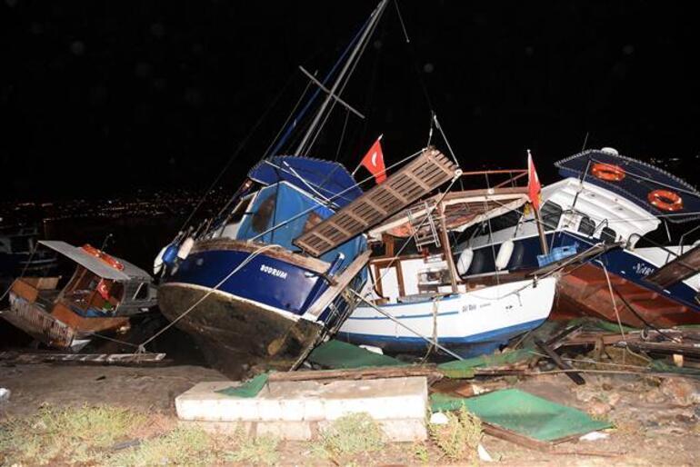 Egedeki şiddetli depremden son dakika haberleri