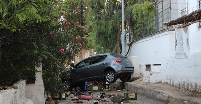 Bodrumda şok görüntü Kandilli açıkladı: Tsunami...