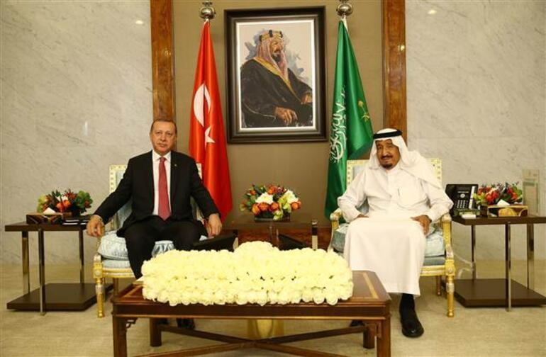 Cumhurbaşkanı Erdoğan, Suudi Arabistanda