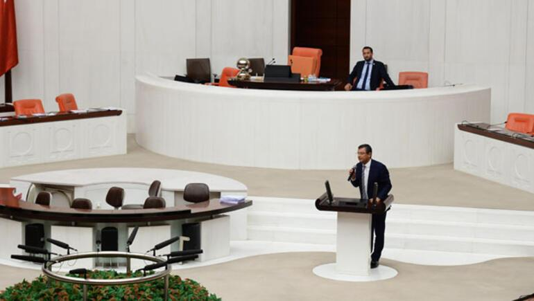 CHP Meclis'te sabahladı