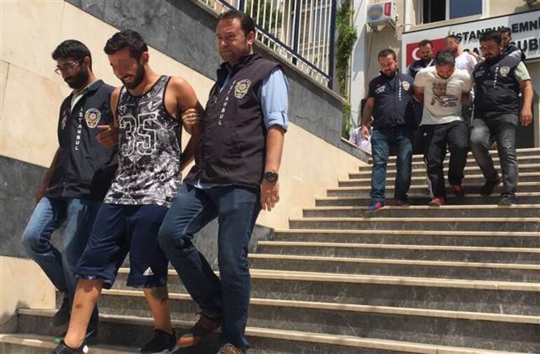 Abantta sefa süren hırsızları yıllık izindeki polisin dikkati yakalattı