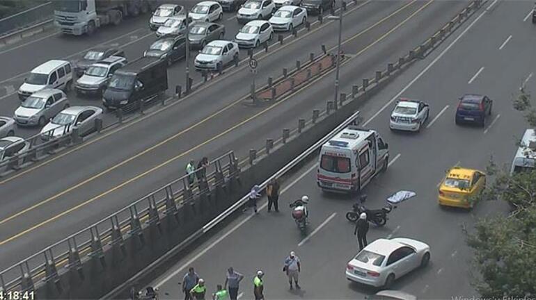 İstanbulda korkunç kaza...