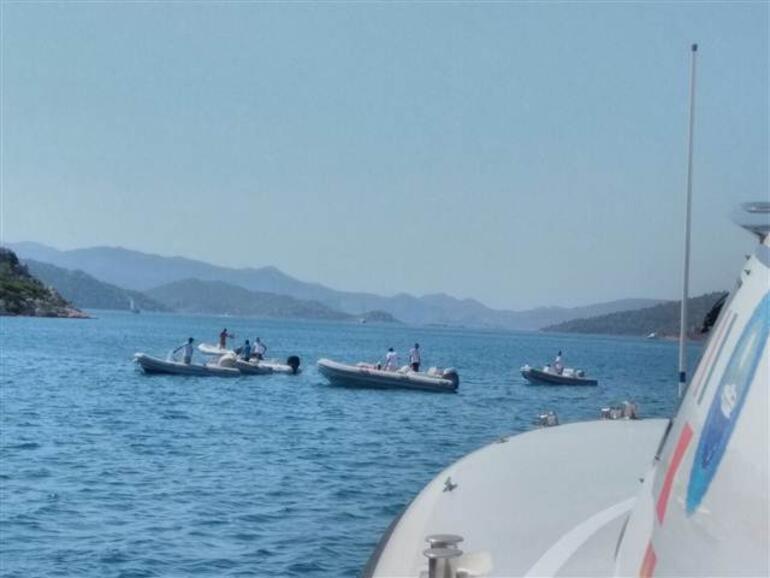 Marmariste tur teknesi battı... Kötü haberler geliyor
