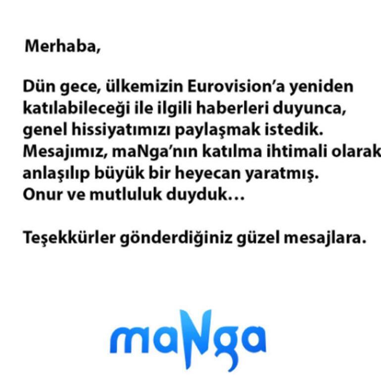 Türkiye yeniden Eurovisionda