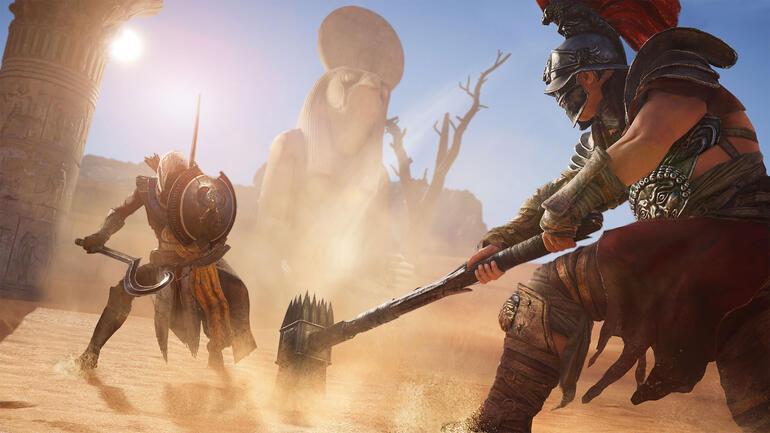 Kapsamlı bir ön inceleme: Assassin's Creed Origins
