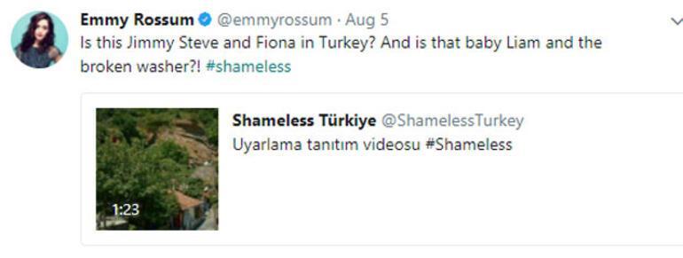 Shameless'ın yıldızı Türk dizisiyle dalga geçti cevabını Hazal Kaya verdi
