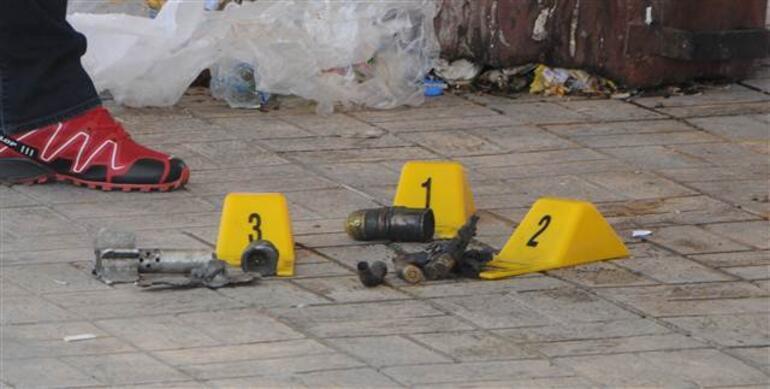 Gaziantep otogarında çöpte mühimmat bulundu