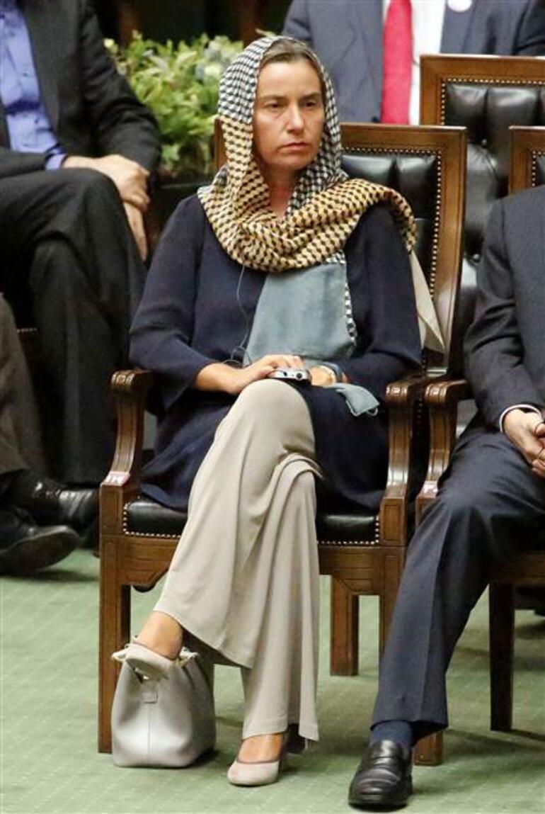 Bu görüntüler İranda tartışma çıkarttı...