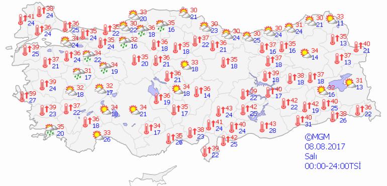 Meteorolojiden çılgın açıklama... Yarın İstanbulda hava 43 derece