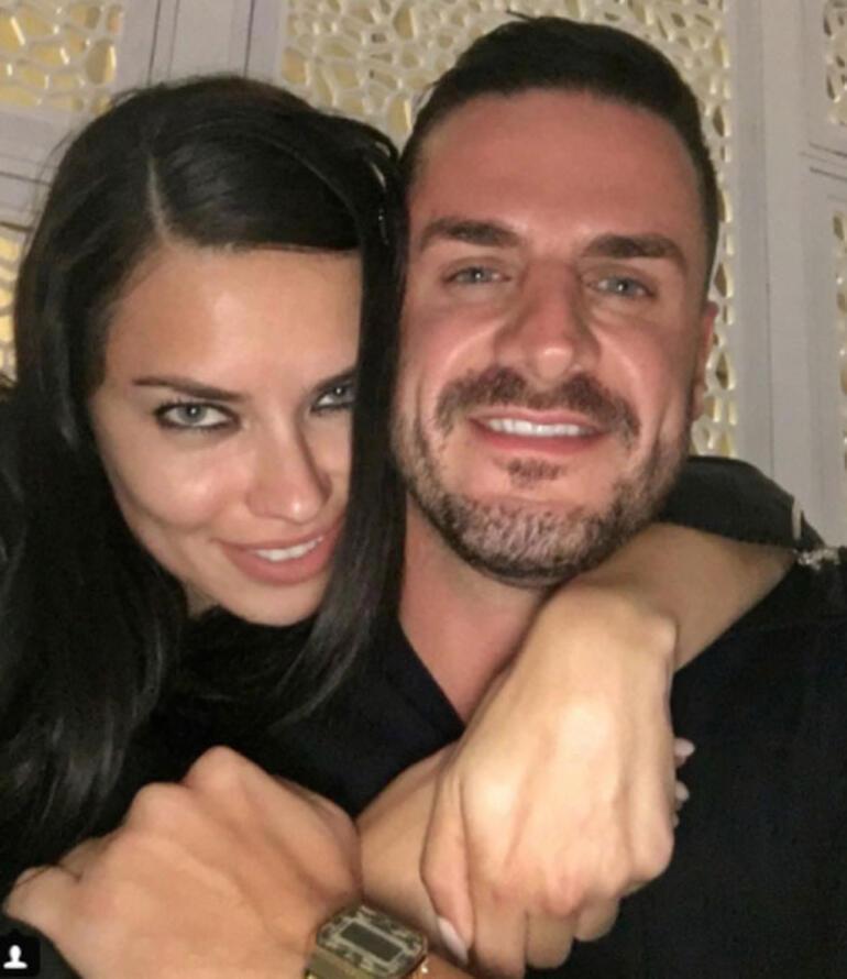 Adriana Lima eski sevgilisiyle buluştu