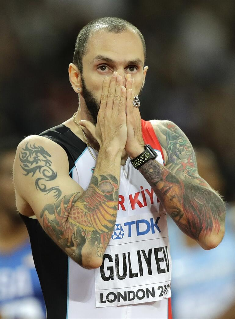 Tarihi başarı Ramil Guliyev dünya şampiyonu
