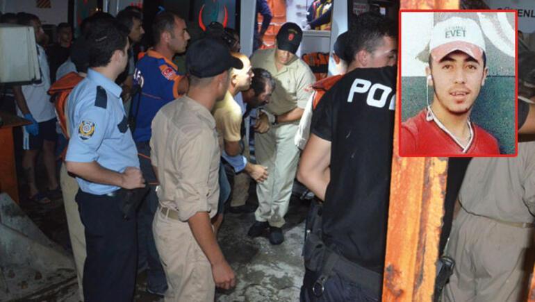 Denizde kaybolan gencin cesedine 3 gün sonra ulaşıldı