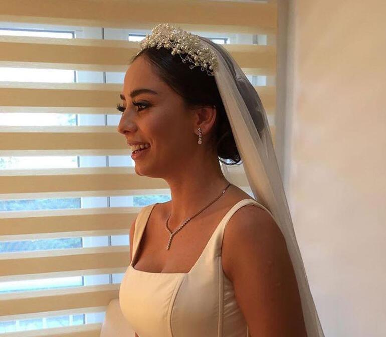 Merve Sevi ve Çalkan Algün evlendi