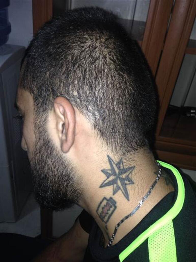 Bu dövmelerden yakalandı