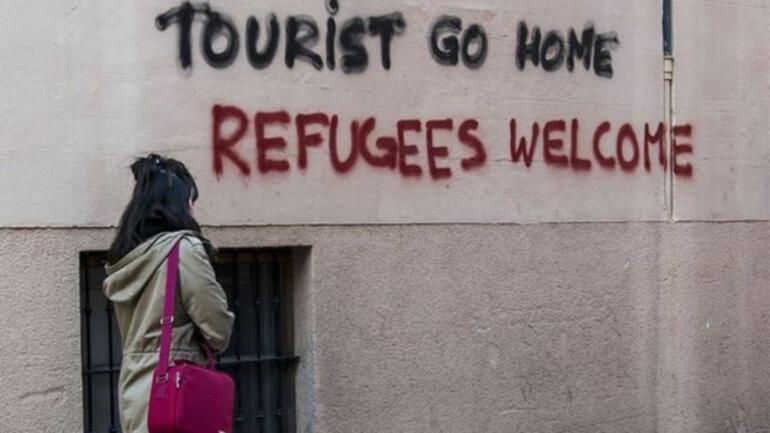 Avrupada turistler hedef tahtasında