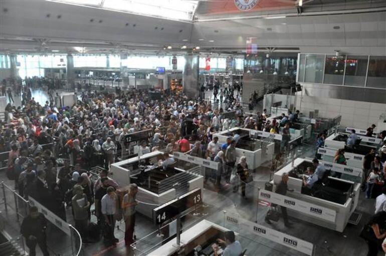 Dikkat... Atatürk Havalimanı şu an