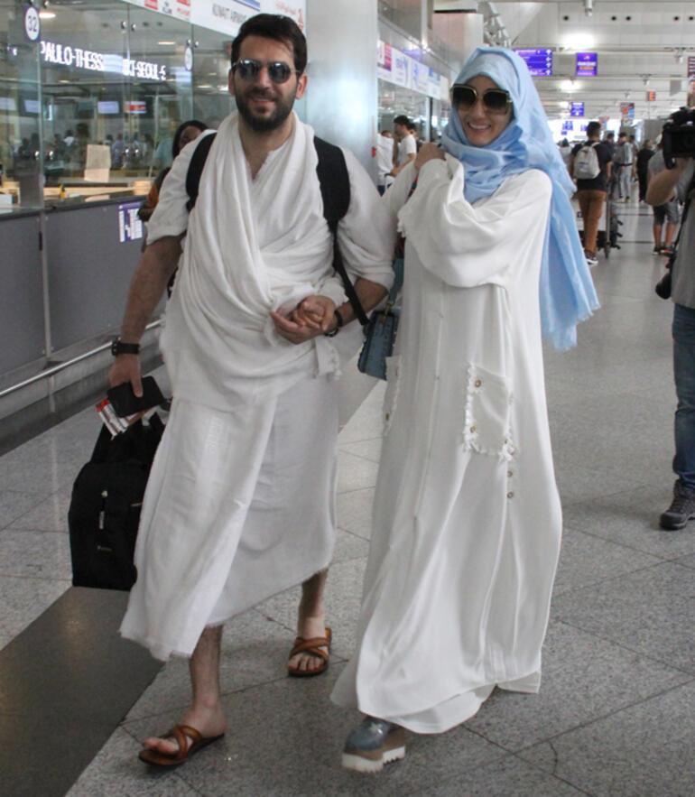 Murat Yıldırım ve ailesi kutsal topraklara gitti