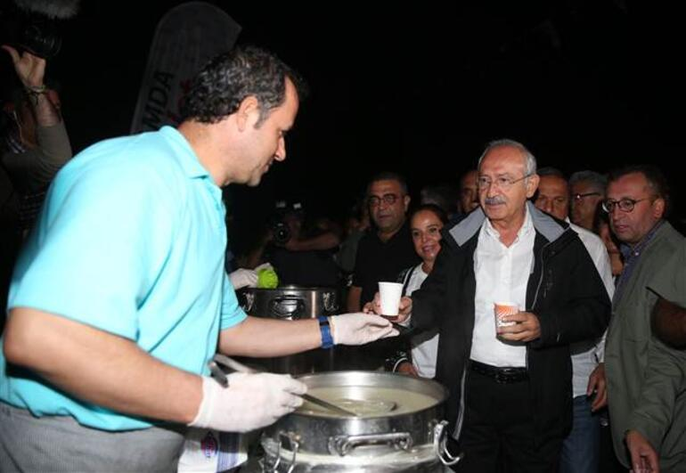 CHPnin Adalet Kurultayının ikinci günü... Kılıçdaroğlu, 57. Alaya Saygı Yürüyüşüne katıldı
