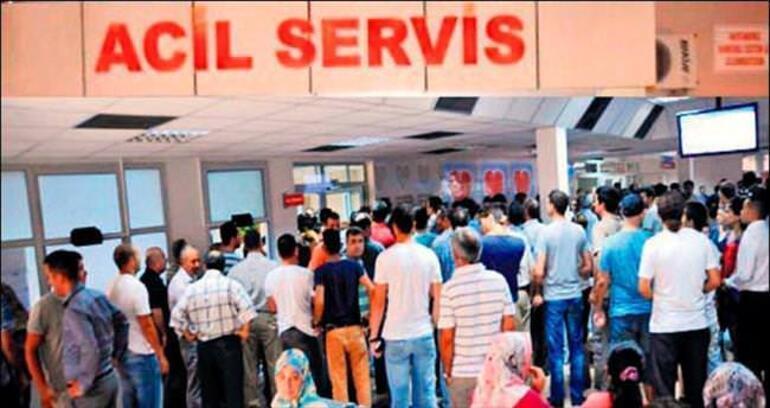Hastanelerin poliklinikleri bayramda kapalı, #acilleryukaltindaeziliyor trend oldu