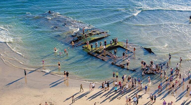 Sular çekilince gün yüzüne çıkan saklı gemi: Monte Carlo