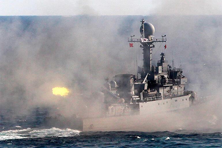 Son Dakika: Kuzey Kore tehdidine karşı savaş gemilerini cepheye yığdılar