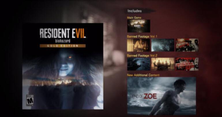 Resident Evil 7: Biohazard Gold Edition geliyor