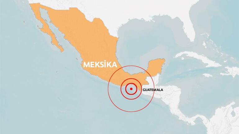 Son dakika: Meksikada 8.1lik depremin ardından alarm verildi