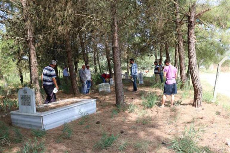 Mahalleli mezarlığın satılmasına isyan etti