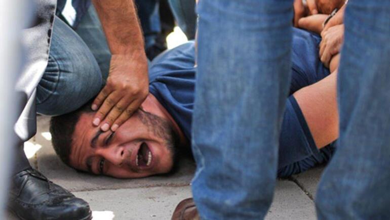 Gülmen ve Özakça davası öncesi polis müdahalesi