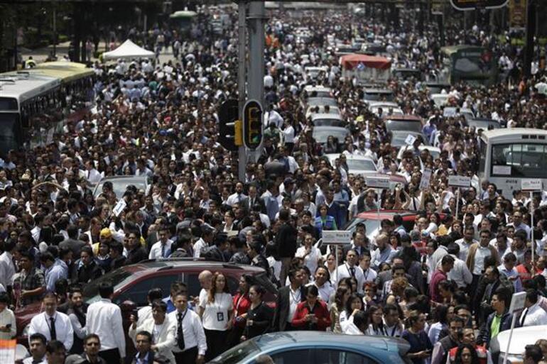 Son dakika... Meksikada 7,1 büyüklüğünde deprem